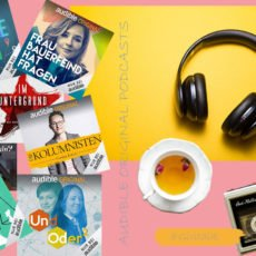 Collage mit Podcasts von Frauen