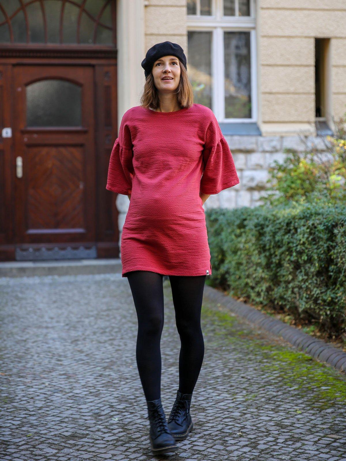 Rotes Fair Fashion Kleid von Lovjoi