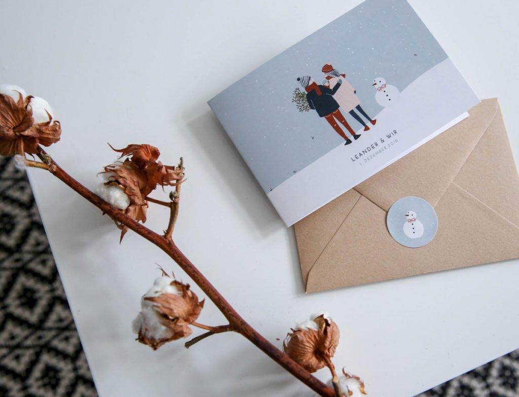 Karten zur Geburt von Atelier Rosemood