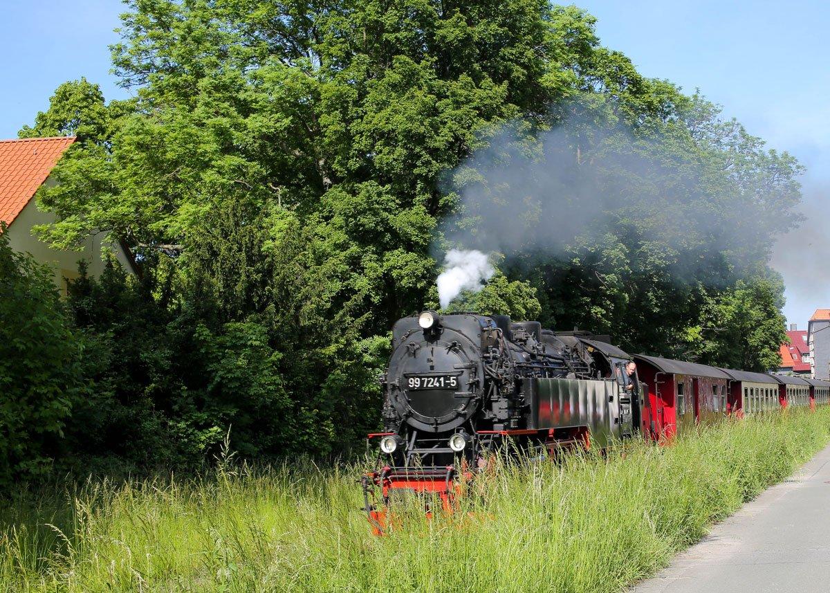 Schmalspurbahn an der Hochschule Wernigerode