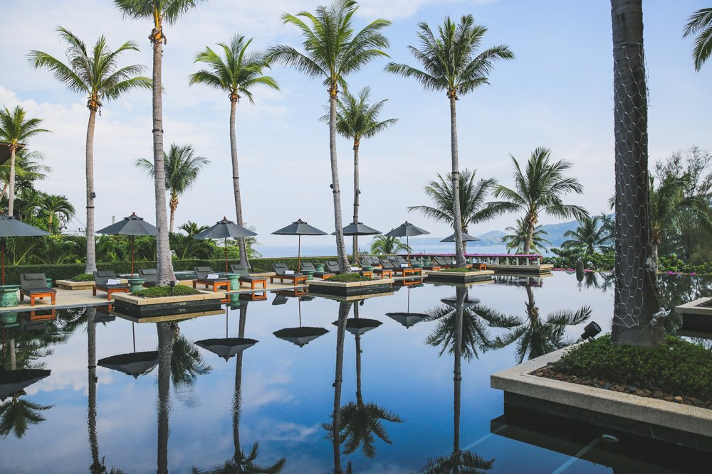 Pool im Andara Resort Phuket