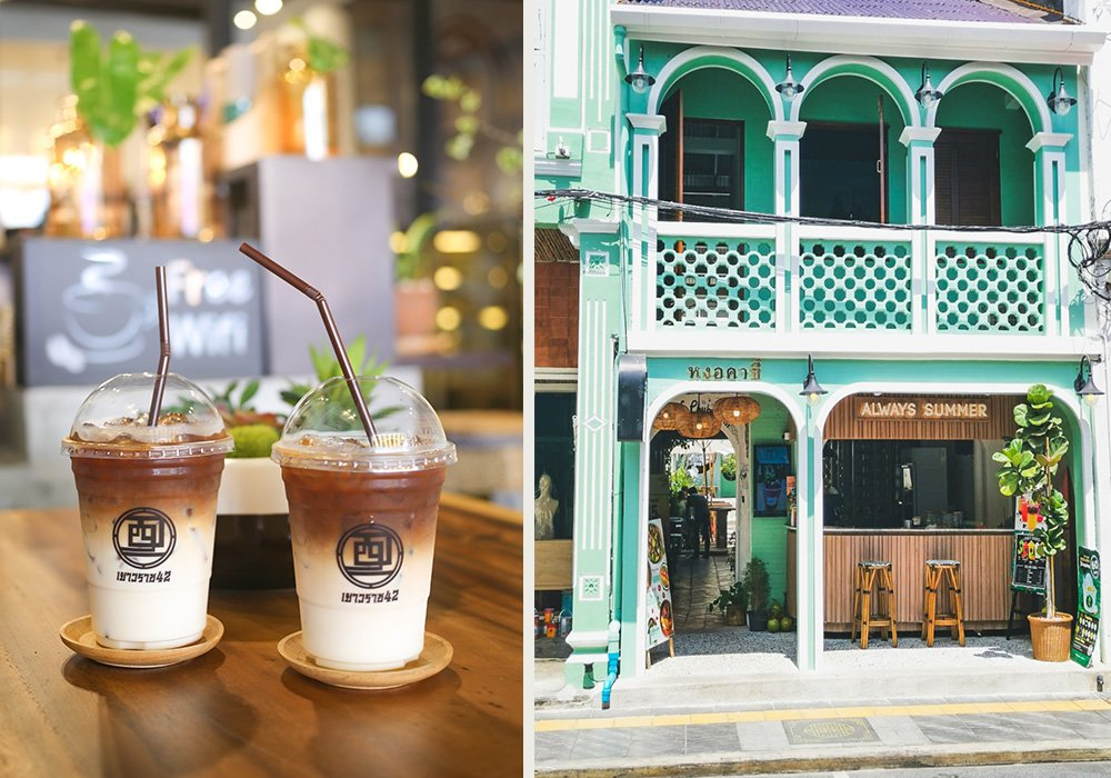 Café in Old Phuket Town