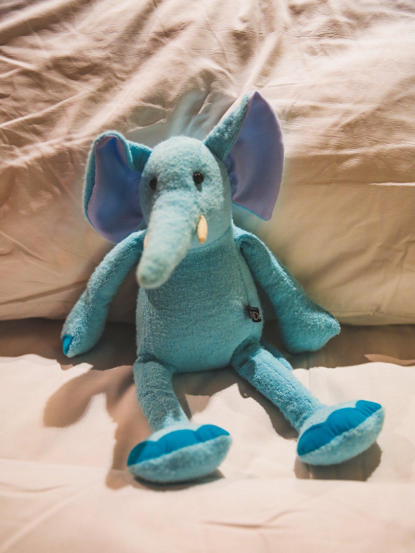 Kuscheltier Elefant im Andara Resort
