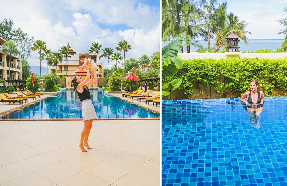 Pools im Mövenpick Resort Bangtao Beach