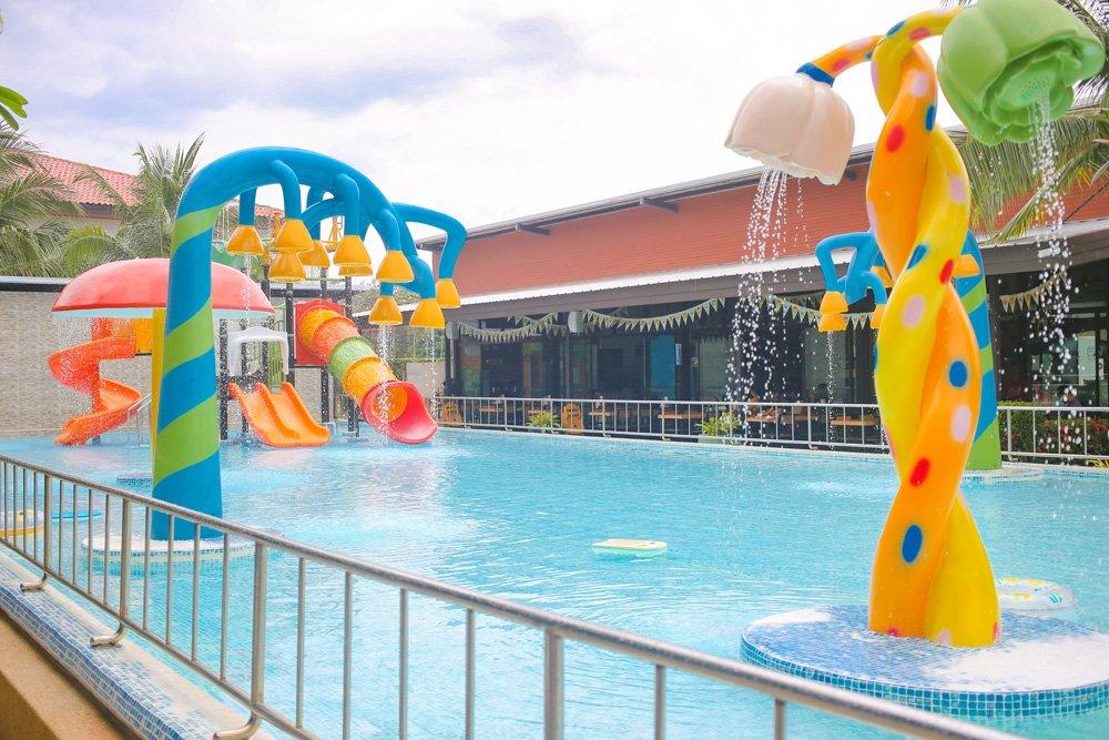 Kinderpool im Rawai Kids Park Phuket