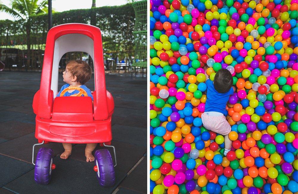 Spielzeug im Rawai Kids Park auf Phuket