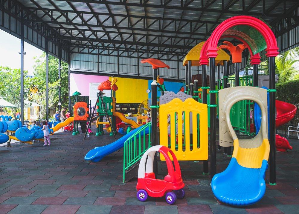 Spielplatz im Rawai Kids Park auf Phuket