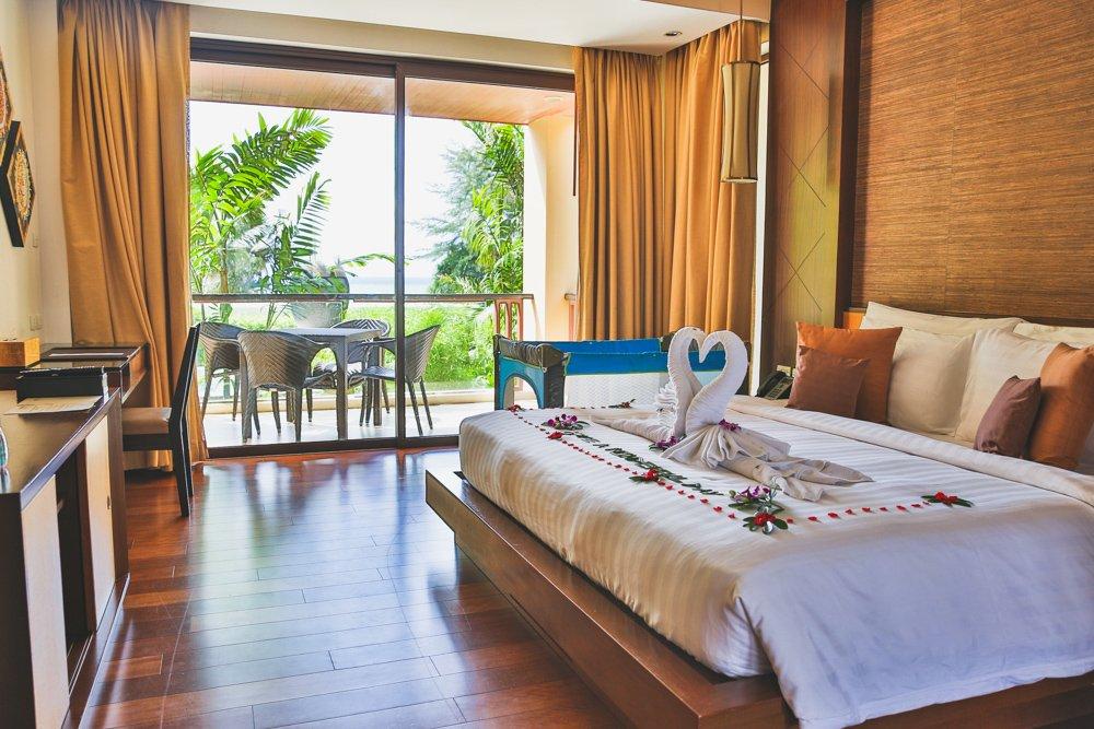 Schlafzimmer im Mövenpick Resort Bangtao Beach