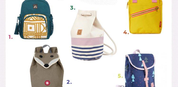 Collage mit den schönsten Rucksäcken für Kleinkinder