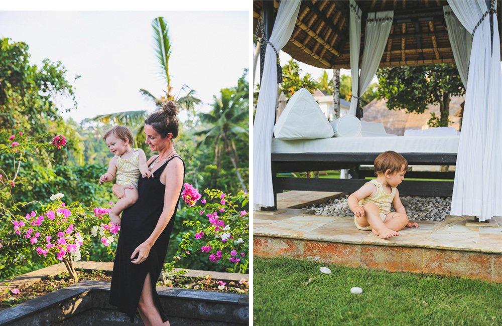 Mit Kind im Viceroy Bali