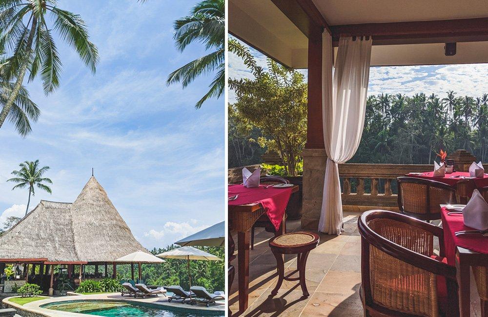 Restaurant Cascades im Viceroy Bali