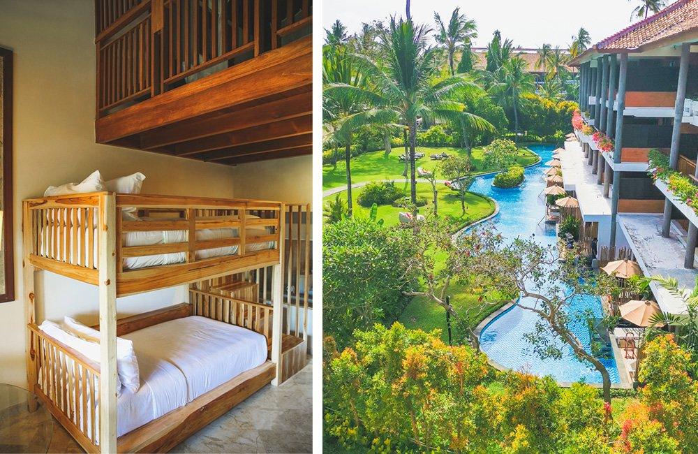 Familienzimmer im Meliá Bali