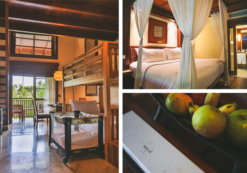 Maisonette-Zimmer im Melia Bali