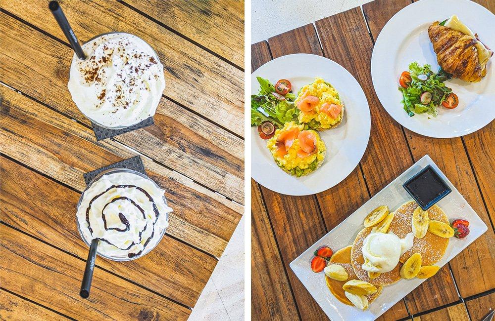 Frühstück im Mövenpick Café Jimbaran