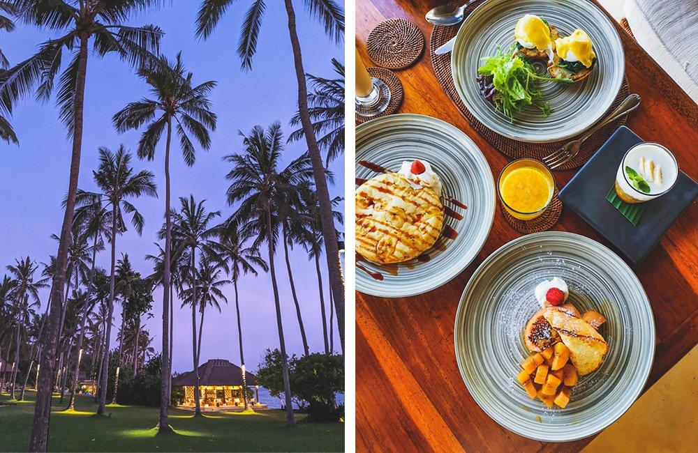 Frühstück im Alila Manggis Bali