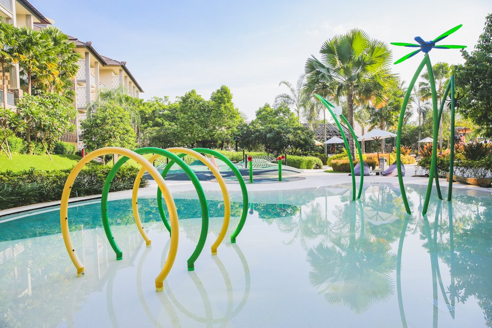 Babypool im Mövenpick Resort & Spa Jimbaran